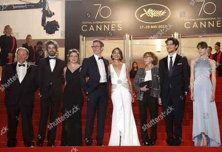 Editorial image of Le Redoutable Premiere - 70th Cannes Film Festival, France - 21 May 2017
