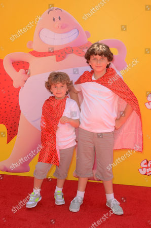 Editorial photo of 'Captain Underpants' film premiere, Los Angeles, USA - 21 May 2017