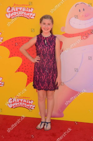 Editorial image of 'Captain Underpants' film premiere, Los Angeles, USA - 21 May 2017