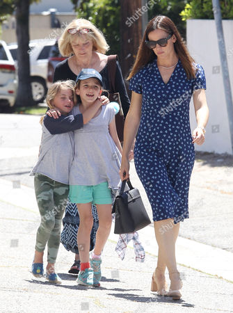 Editorial image of Jennifer Garner out and about, Los Angeles, USA - 21 May 2017