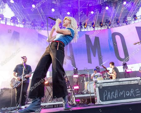 Paramore - Hayley Williams, Zac Farro and Taylor York