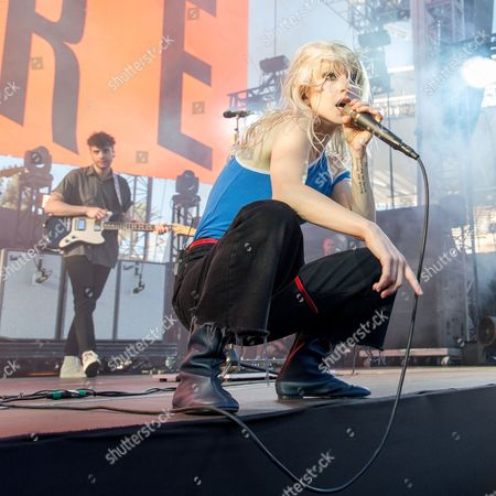 Paramore - Taylor York and Hayley Williams