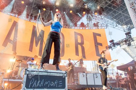Paramore - Zac Farro, Hayley Williams and Taylor York