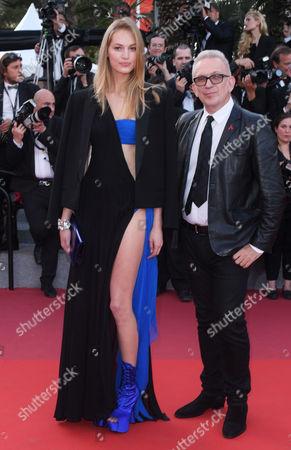 Jean Paul Gaultier and Vanessa Axente