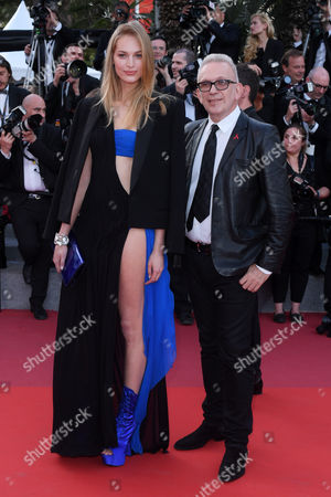 Stock Image of Jean Paul Gaultier and Vanessa Axente