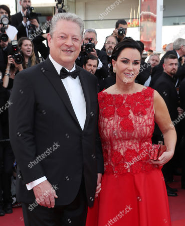 Al Gore and Elizabeth Keadle