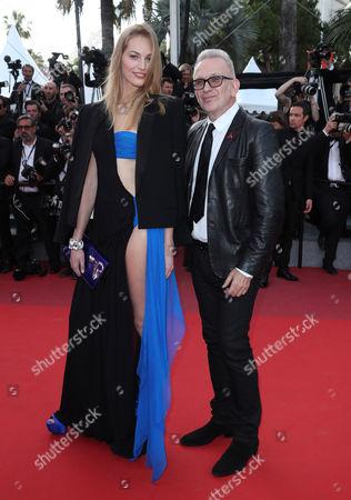 Vanessa Axente and Jean Paul Gaultier