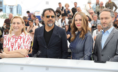 Miuccia Prada, Alejandro G Inarritu, Mary Parent, Emmanuel Lubezki Miuccia Prada, from left, director Alejandro G Inarritu, producer Mary Parent and director of photography Emmanuel Lubezki pose for photographers during the photo call for the film The Killing Of A Sacred Deer at the 70th international film festival, Cannes, southern France