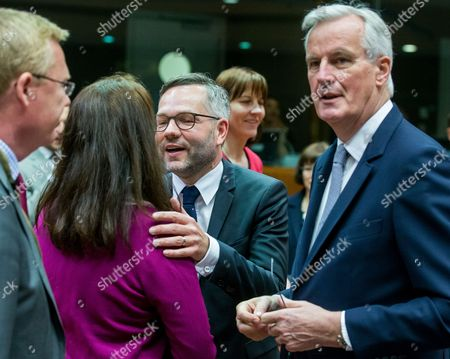 Michel Barnier, Ann Linde and Michael Roth