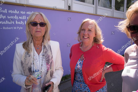Susan George and Deborah Meaden