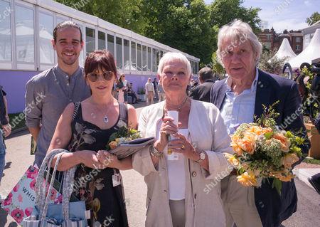 Flinty Williams, Judi Dench and David Mills