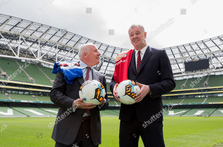Editorial image of International Club Game Announcement, Aviva Stadium, Dublin  - 22 May 2017