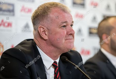 Stock Picture of Former Manchester United player Gary Pallister at today's announcement