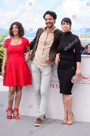 Kaouther Ben Hania, Ghanem Zrelli and Mariam Al Ferjani
