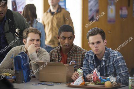 Justin Prentice, Steven Silver, Brandon Flynn
