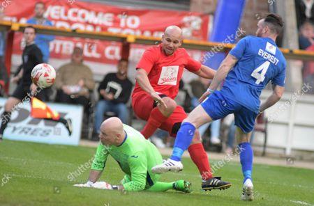 Editorial photo of Celebrity charity football match, Swindon, UK - 22 May 2017