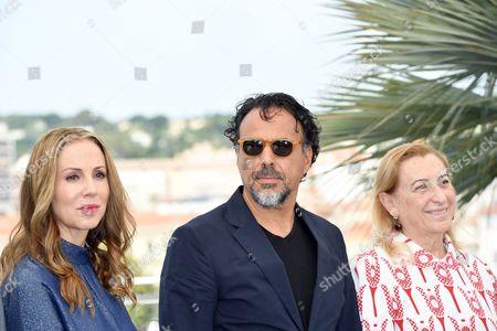 Alejandro Gonzalez Inarritu, Miuccia Prada, Mary Parent