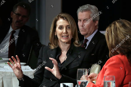 Ruth Porat, Maria Bartiromo, Terry Lundgren Alphabet Inc. CFO Ruth Porat, left, is interviewed by Maria Bartiromo, of Fox Business Network, during a luncheon of The Economic Club of New York, in New York, . The organizations president, Macy's CEO Terry Lundgren, is at center