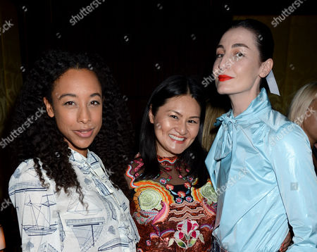Stock Picture of Corinne Bailey Rae, Alison Tay and Erin O'Connor