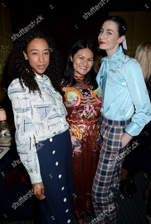 Stock Photo of Corinne Bailey Rae, Alison Tay and Erin O'Connor