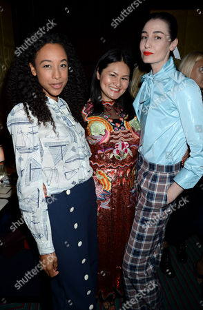 Corinne Bailey Rae, Alison Tay and Erin O'Connor