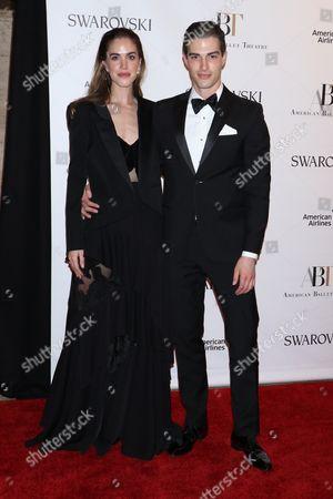 Julia Loomis and Seth Tringale