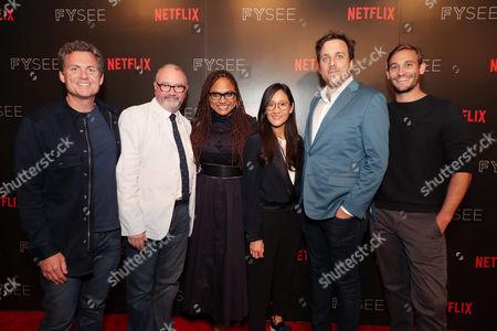 Greg Whiteley, Ava DuVernay, Lisa Nishimura, Brian McGinn, Ryan White