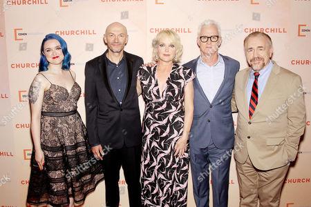 Alex von Tunzelmann (Screen Writer), Jonathan Teplitzky (Director), Miranda Richardson, John Slattery, Brian Cox