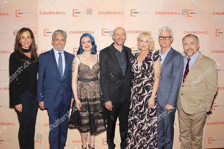 Editorial picture of New York Premiere of Cohen Media Group's 'CHURCHILL', USA - 22 May 2017