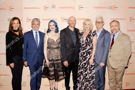 Editorial image of New York Premiere of Cohen Media Group's 'CHURCHILL', USA - 22 May 2017