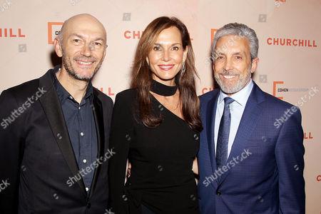 Jonathan Teplitzky (Director), Clo Cohen, Charles S. Cohen (Chairman, CEO Cohen Media Group)