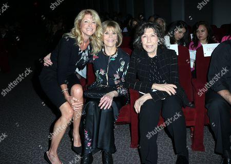 Senator Wendy Davis, Jane Fonda, Lily Tomlin