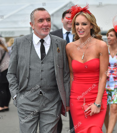 Liverpool Fc Chief Executive Ian Ayre And Partner At The Races. Ladies Day Of The Crabbie's Grand National Festival Aintree Merseyside.