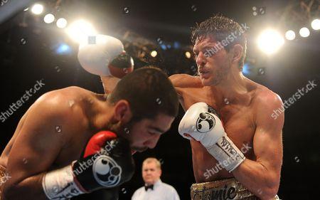 Jamie Mcdonell (r) V Fernando Vargas Matchroom Boxing.