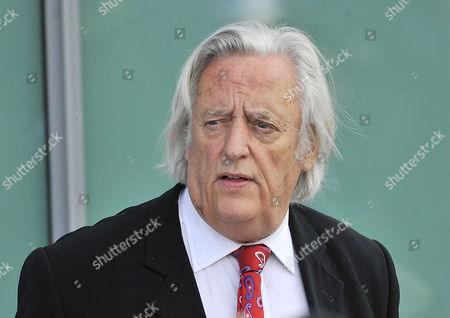 Hillsborough Inquiry: Michael Mansfield Qc Leaves After The Final Verdict On The 96 People Who Died At Hillsborough Stadium Sheffield On 15th April 1989. Taken Place At The Hillsborough Inquiry Coroners Court Warrington Cheshire.