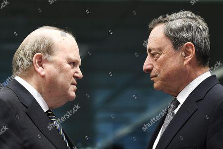 Michael Noonan / Mario Draghi
