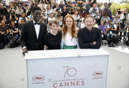 Editorial photo of Jeunne Femme Photocall - 70th Cannes Film Festival, France - 23 May 2017