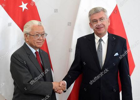 Tony Tan Keng Yam and Stanislaw Karczewski