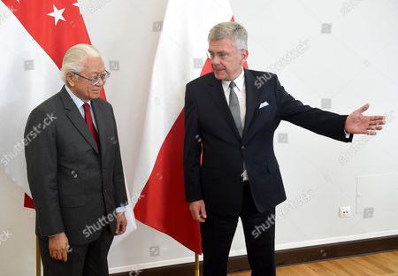 Editorial photo of President of Singapore Tony Tan Keng Yam with visit to Poland, Warsaw - 23 May 2017
