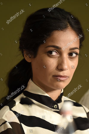 French actress Nabiha Akkari attends the press conference for 'Happy End' during the 70th annual Cannes Film Festival, in Cannes, France, 22 May 2017. The movie is presented in the Official Competition of the festival which runs from 17 to 28 May.