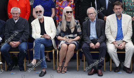 Jane Campion, Michael Haneke and Ken Loach