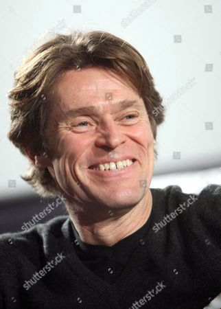 Us Actor Willem Dafoe During a Masterclass at the 49th Film Festival in Thessaloniki Greece 22 November 2008 Dafoe Spoke About His Relationship with Greek Director Theodoros Angelopoulos and Presented the Film of Danish Director Lars Von Trier 'Antichrist' where He Acts Greece Thessaloniki