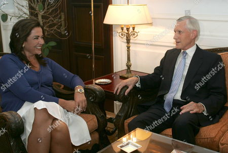 Dutch Foreign Minister Bernard Bot (r) Meets with Greek Foreign Minister Dora Bakoyianni in Athens on Thursday 07 September 2006 Greece Athens