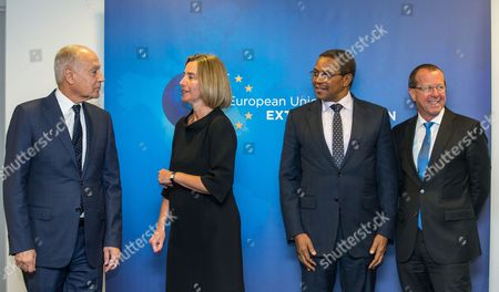Editorial photo of Meeting of the Libya Quartet in Brussels, Belgium - 23 May 2017