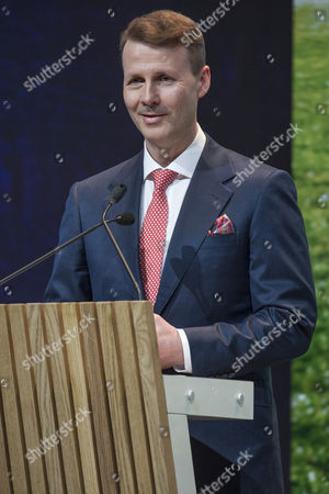 Nokia Chairman of the Board Risto Siilasmaa addressing the Nokia Annual General Meeting in Helsinki, Finland, 23 May 2017.