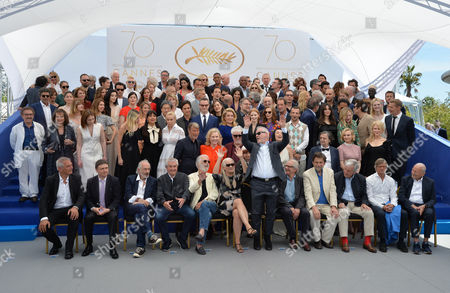 Editorial photo of 70th Anniversary photocall, 70th Cannes Film Festival, France - 23 May 2017