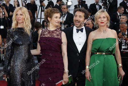 Sandrine Kiberlain, Emmanuelle Devos and Karine Viard