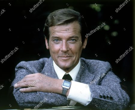 Stock Image of Sir Roger Moore in 'For Your Eyes Only'