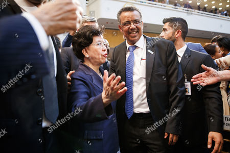 Editorial picture of 70th World Health Assembly, Geneva Geneve Genf, Switzerland - 23 May 2017