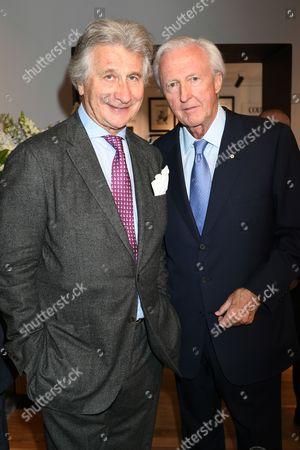 Arnaud Bamberger and Galen Weston